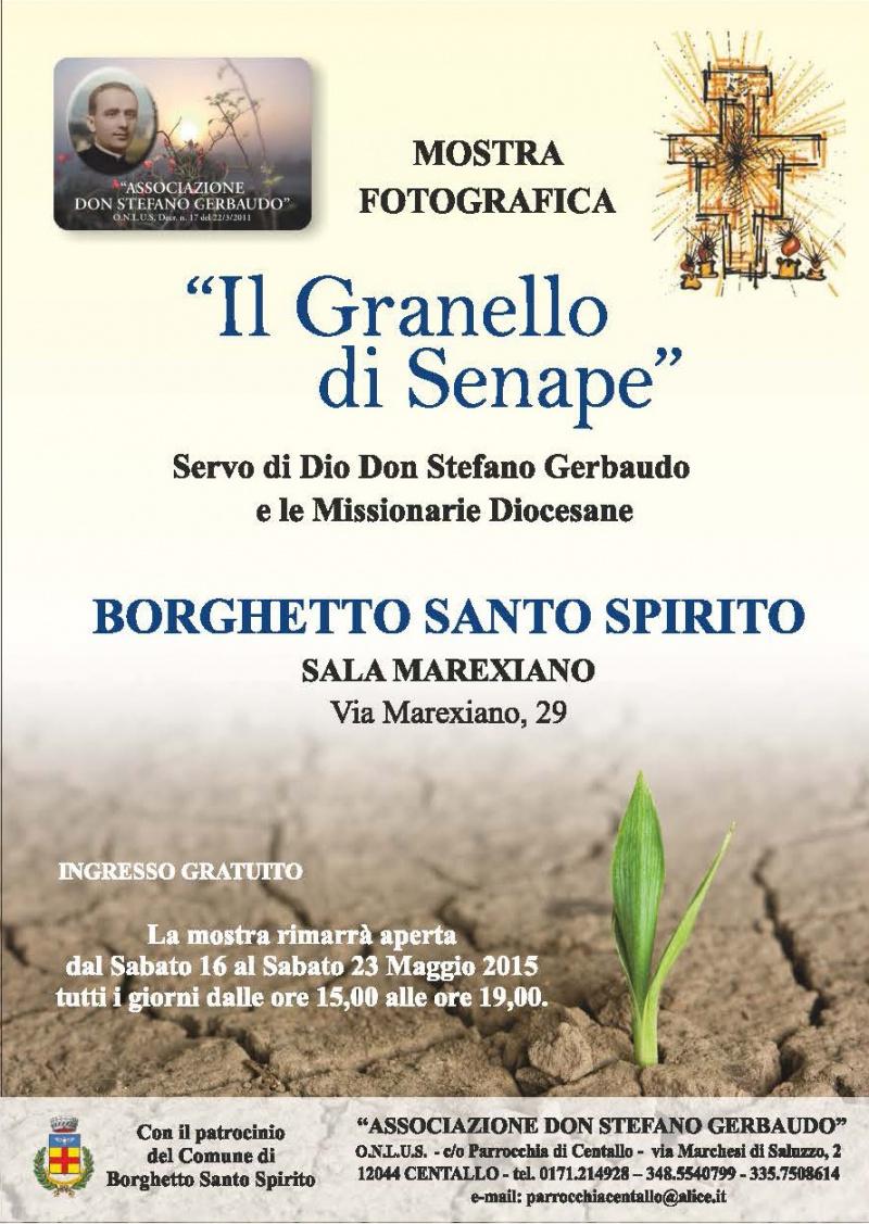 """Borghetto S. Spirito - mostra """"Il Granello di Senape"""""""